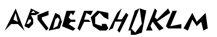 Electrode Font UPPERCASE