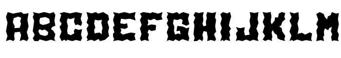 Electrolite Font UPPERCASE