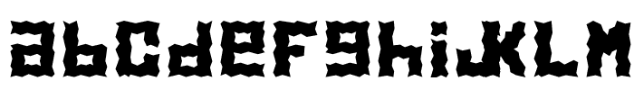 Electrolite Font LOWERCASE