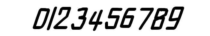 Electronic Black SuperItalic Font OTHER CHARS