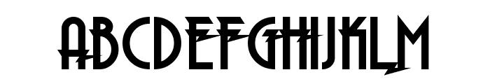Electrorocket Bold Font UPPERCASE