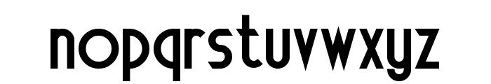 Electrorocket Bold Font LOWERCASE