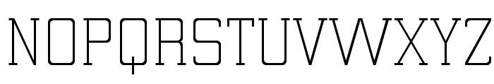 ElectrumADFExp-Light Font UPPERCASE