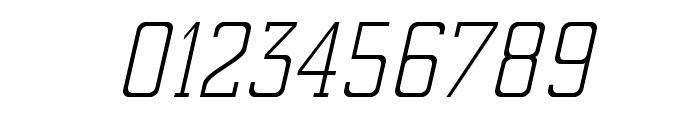 ElectrumADFExp-LightOblique Font OTHER CHARS