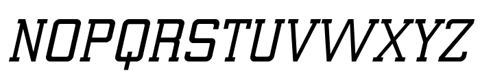 ElectrumADFExp-SemiBoldOblique Font UPPERCASE