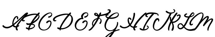 EleganciaRomantica Font UPPERCASE