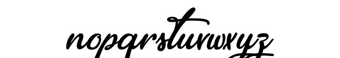 EleganciaRomantica Font LOWERCASE