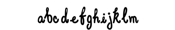 Elegant Ink Font LOWERCASE