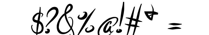ElegantDragonBold Font OTHER CHARS
