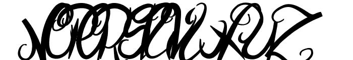 ElegantDragonBold Font UPPERCASE