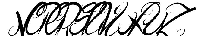 ElegantDragonItalic Font UPPERCASE