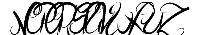 ElegantDragonRegular Font UPPERCASE