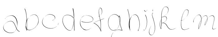 Elegantegaelle Font LOWERCASE