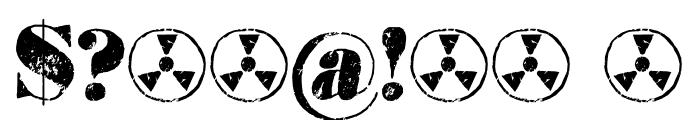 Element 120 DEMO Regular Font OTHER CHARS
