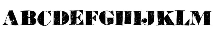 Element 120 DEMO Regular Font UPPERCASE