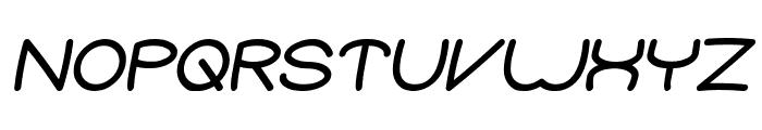 Elementary Bold Italic Font UPPERCASE