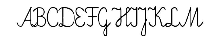 Elementarz Font UPPERCASE