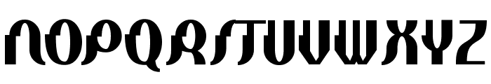 Elephant man Bold Font UPPERCASE