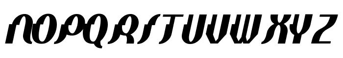 Elephant man BoldItalic Font UPPERCASE