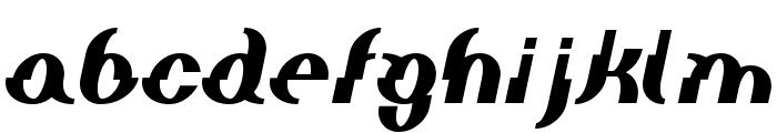 Elephant man BoldItalic Font LOWERCASE