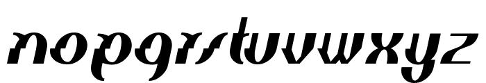 Elephant man Italic Font LOWERCASE