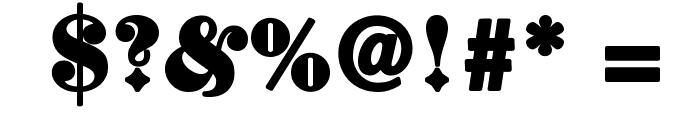 ElephantaBlack Font OTHER CHARS
