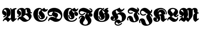 ElephantaBlack Font UPPERCASE