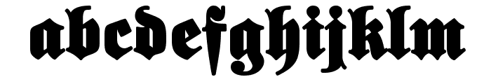 ElephantaBlack Font LOWERCASE