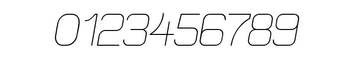 Elgethy Est Oblique Font OTHER CHARS
