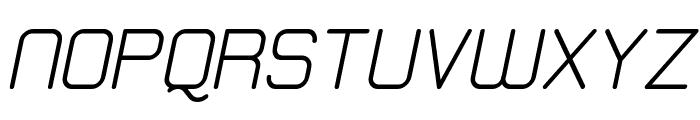 Elgethy Est Upper Bold Oblique Font UPPERCASE