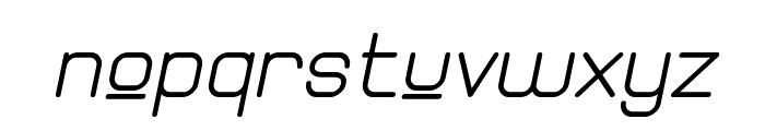 Elgethy Est Upper Bold Oblique Font LOWERCASE