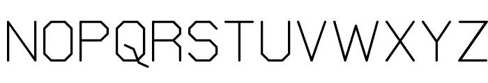 Elgethy Square Font UPPERCASE