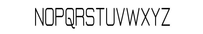 Elgethy Upper Bold Condensed Font UPPERCASE