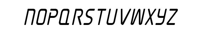 Elite Danger Bold Condensed Italic Font UPPERCASE