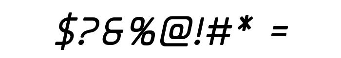 Elite Danger Bold Italic Font OTHER CHARS
