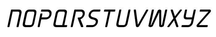 Elite Danger Bold Italic Font UPPERCASE