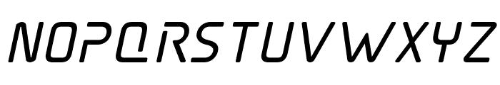 Elite Danger Bold Italic Font LOWERCASE
