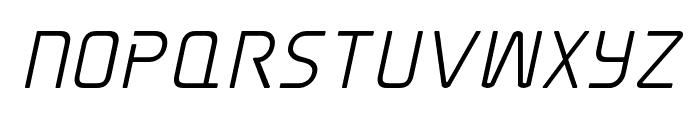 Elite Danger Semi-Bold Italic Font UPPERCASE