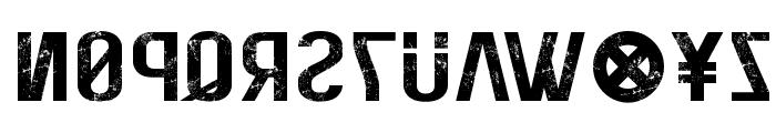 Elite Hacker (Corroded) Font LOWERCASE