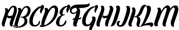Elley Font UPPERCASE