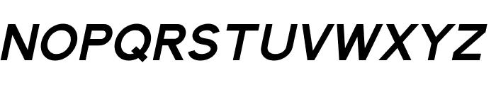 Elliot Sans Bold Italic Font UPPERCASE
