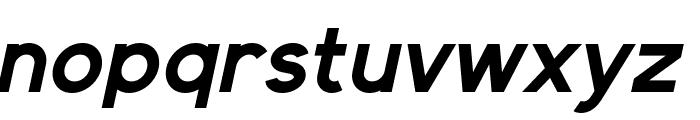 Elliot Sans Bold Italic Font LOWERCASE