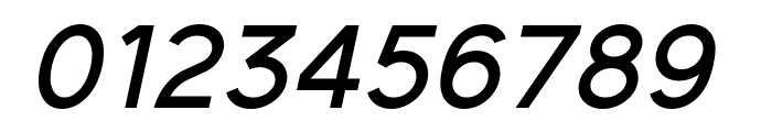 Elliot Sans Medium Italic Font OTHER CHARS