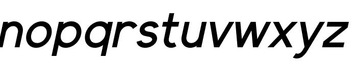Elliot Sans Medium Italic Font LOWERCASE