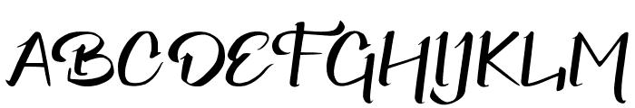 Elliot Font UPPERCASE