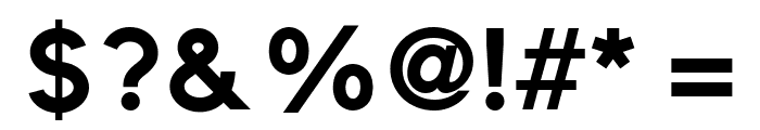 ElliotSans-Bold Font OTHER CHARS