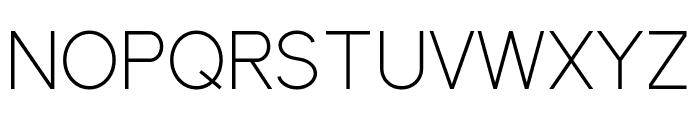 ElliotSans-Light Font UPPERCASE