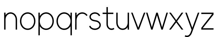 ElliotSans-Light Font LOWERCASE