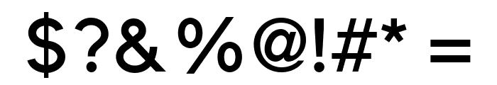 ElliotSans-Medium Font OTHER CHARS