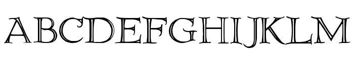 Elliottland J Font UPPERCASE